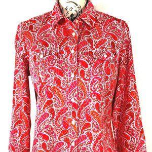 Tommy Hilfiger Womens Size XL Button Shirt Blouse